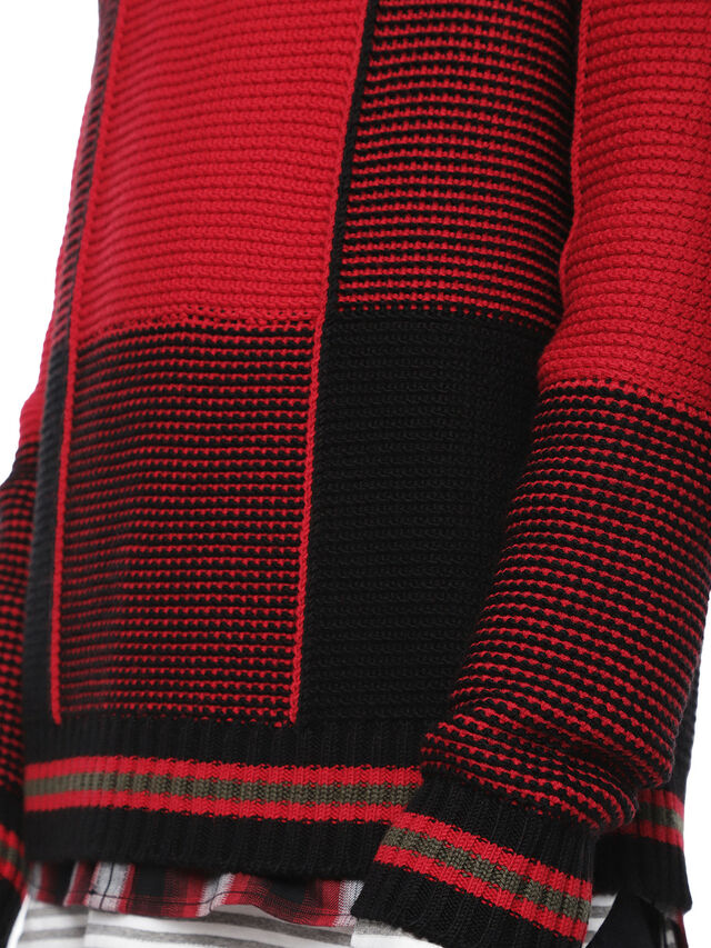 Diesel - KILTY, Red/Black - Sweaters - Image 5