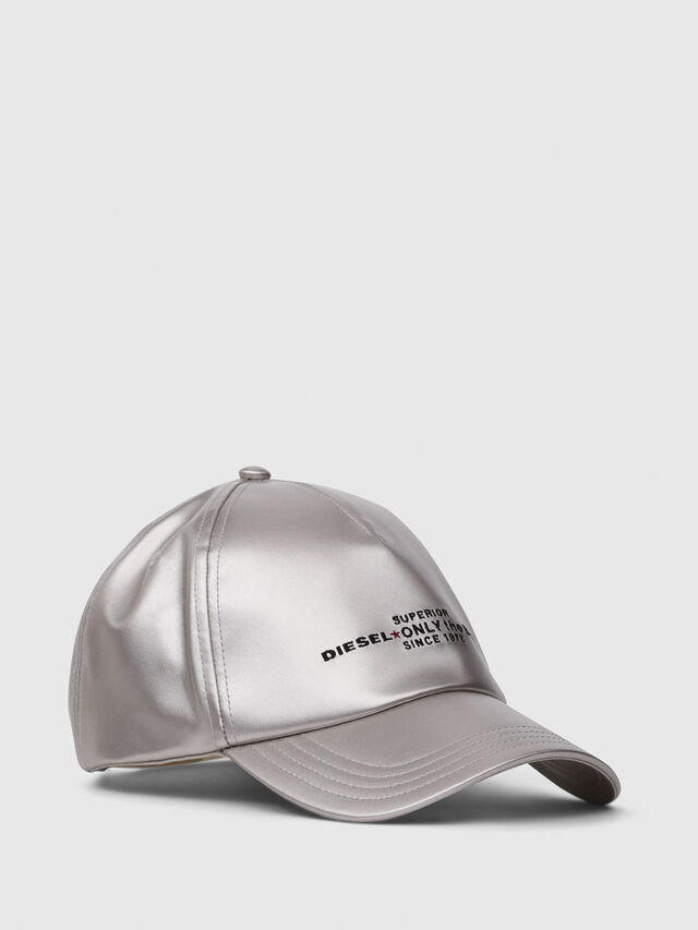 Diesel - C-RAMAX, Silver - Caps, Hats and Gloves - Image 1