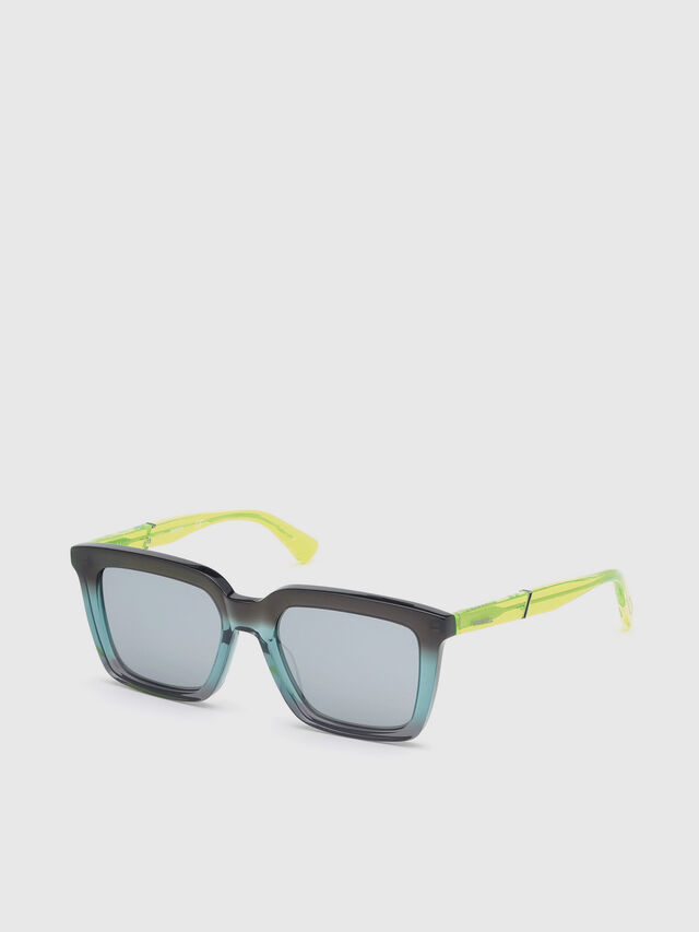 Diesel - DL0284, Blue/Yellow - Sunglasses - Image 2