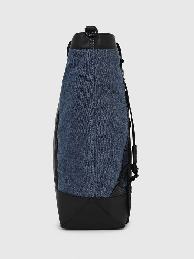 Diesel - SALZANO, Blue/Black - Shopping and Shoulder Bags - Image 2