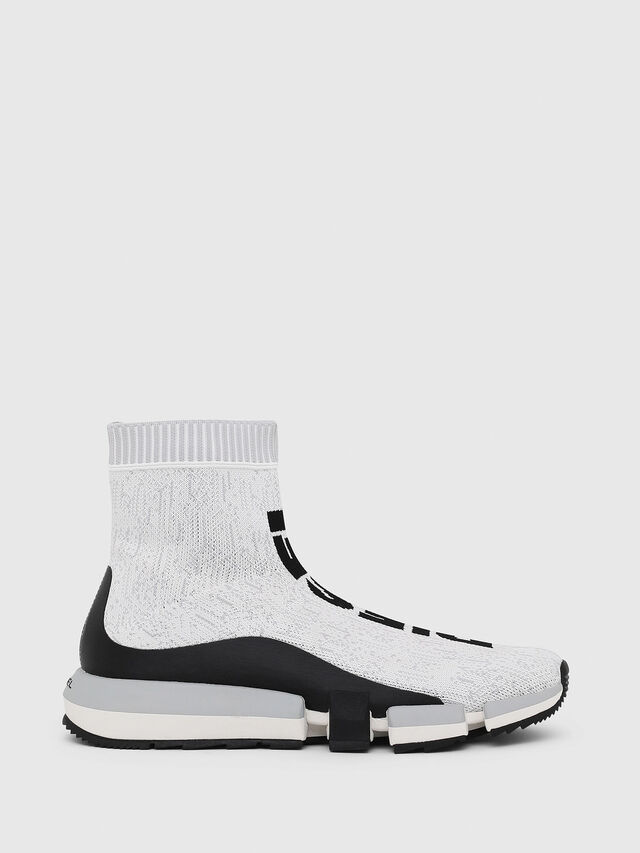4aeca0fdedd H-PADOLA MID SOCK Men: Sock sneakers in knit polyester | Diesel