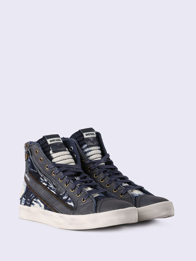 Diesel - D-STRING PLUS, Blue Jeans - Sneakers - Image 3