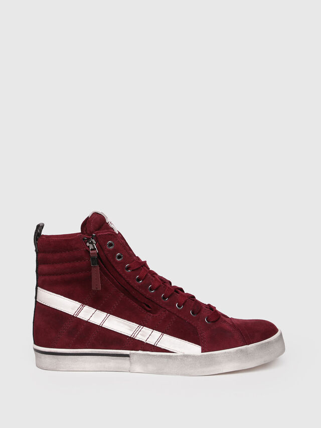 Diesel - D-VELOWS MID LACE, Red - Sneakers - Image 1