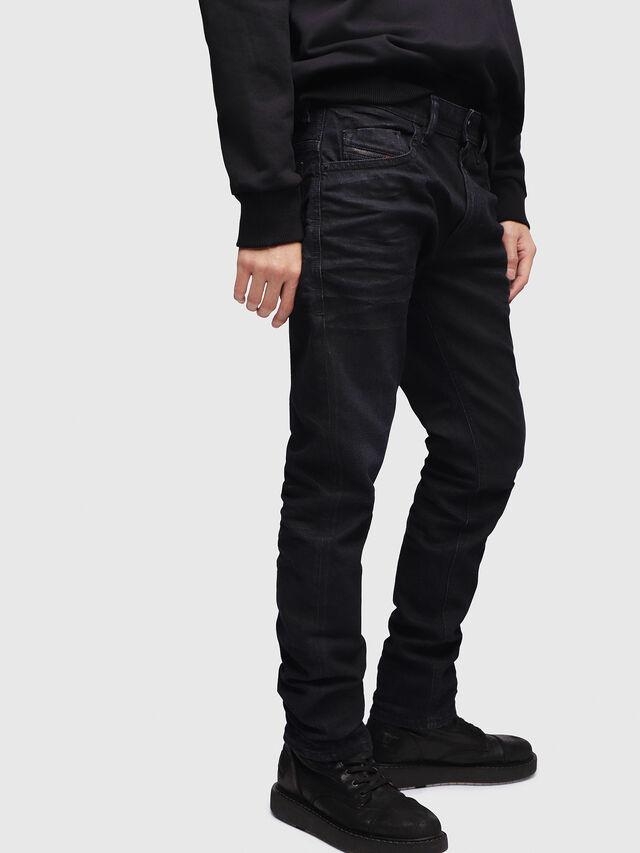 Diesel - Thommer 087AU, Dark Blue - Jeans - Image 3