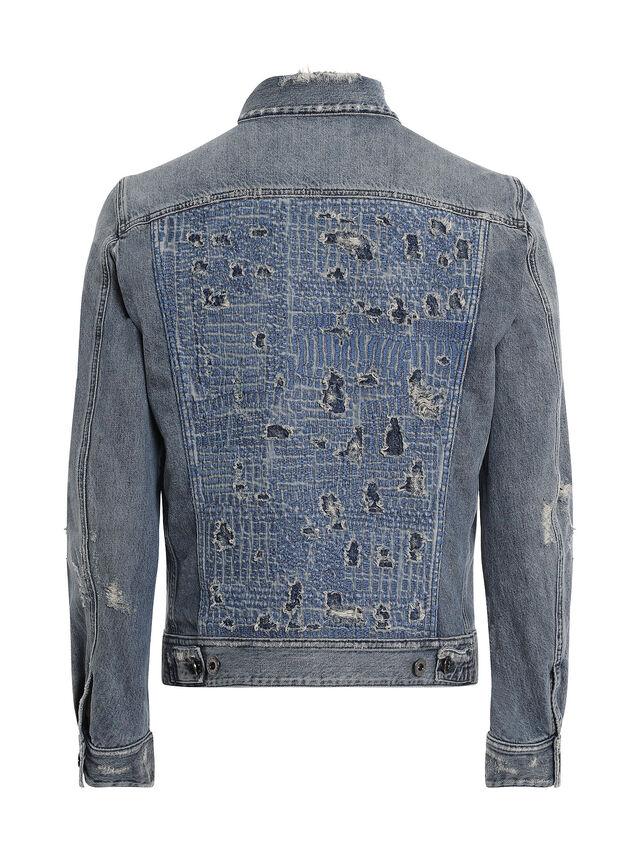 Diesel - JARTE-R, Blue Jeans - Jackets - Image 2