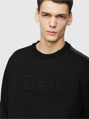ce5133be4 Mens Sweaters: hooded or not | Diesel Online Store