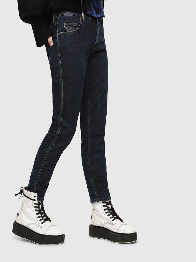 Diesel - Babhila 084YD, Dark Blue - Jeans - Image 1