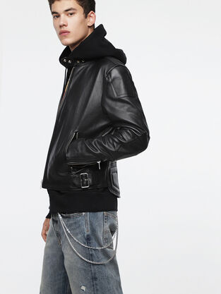 e5803d2f8 Mens Leather Jackets | Diesel Online Store