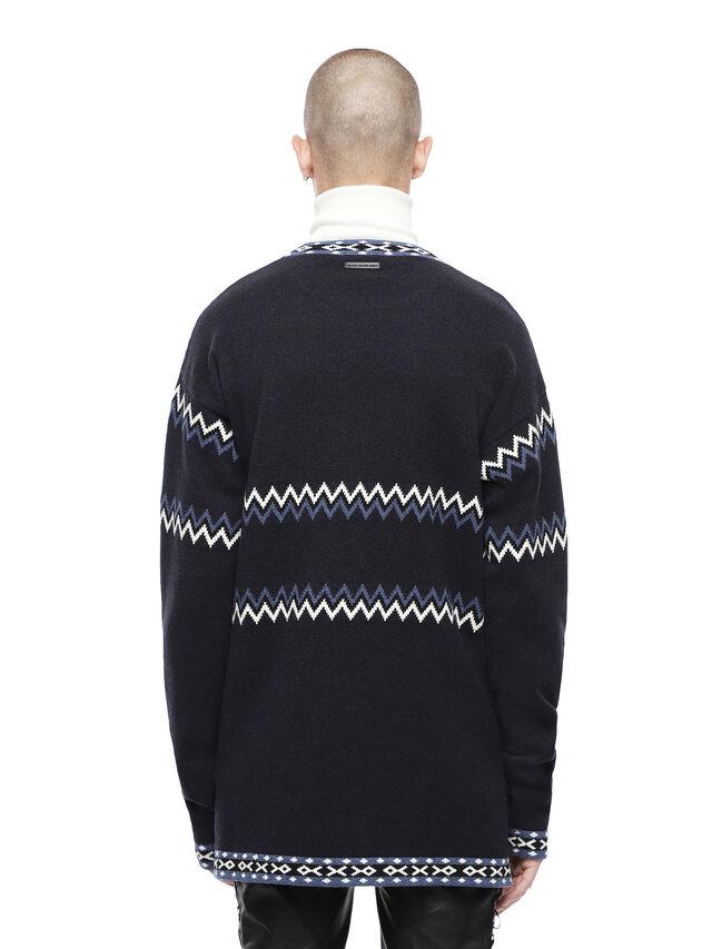 Diesel - KEXAL, Navy Blue - Sweaters - Image 2
