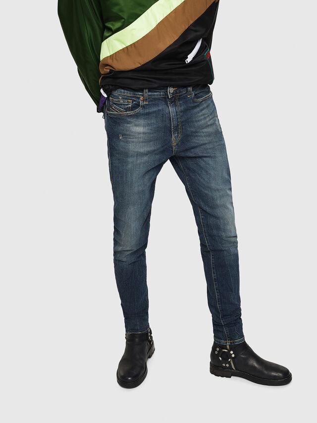 Diesel - D-Amny 069GC, Dark Blue - Jeans - Image 1