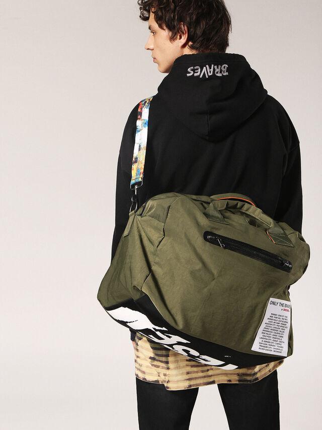 Diesel - XXMATCHDUFFLE, Green - Backpacks - Image 5