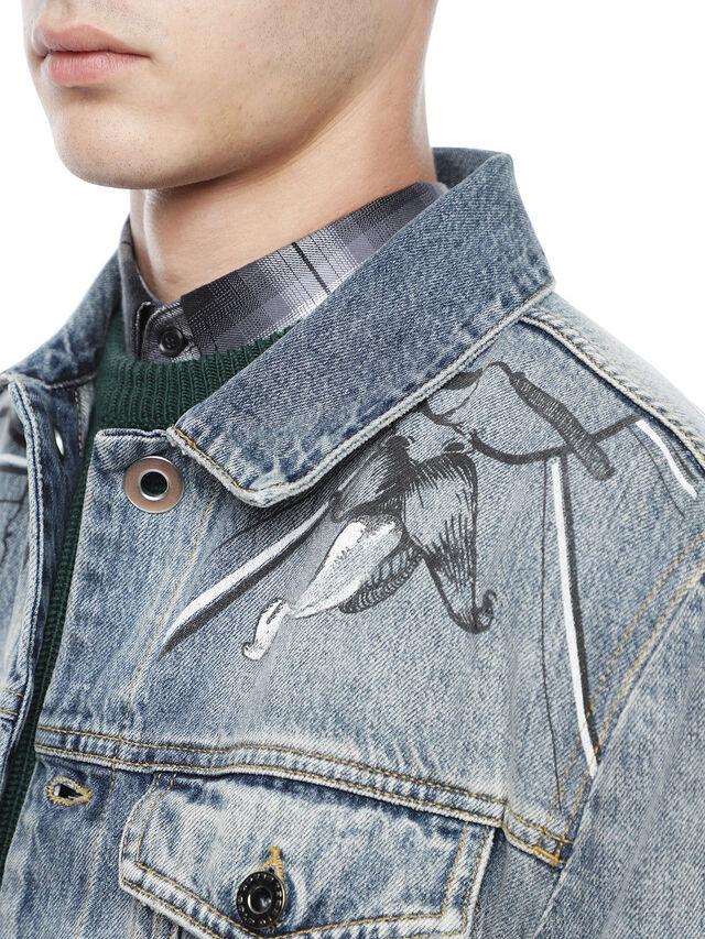 Diesel - JARTEGRAF, Blue Jeans - Jackets - Image 6