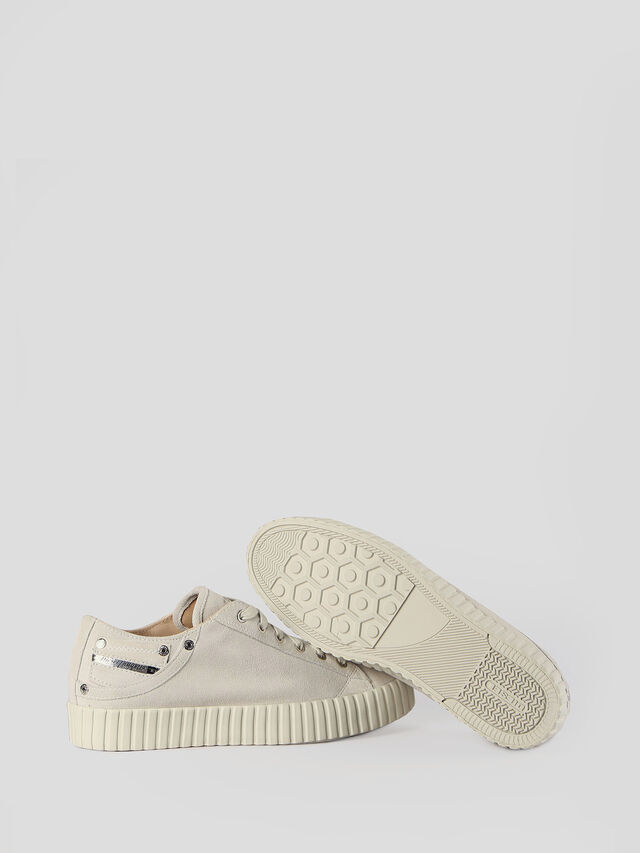 Diesel - S-EXPOSURE CLC W, Dirty White - Sneakers - Image 6
