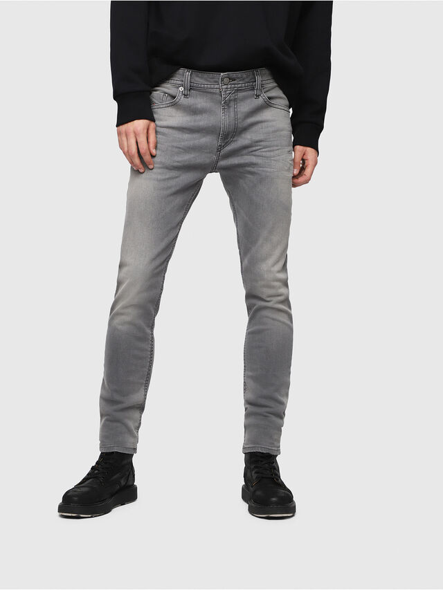 Diesel - Thommer C84HP, Light Grey - Jeans - Image 1