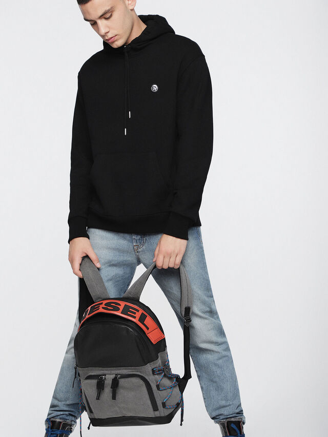 Diesel - D-MASTER BACK, Grey - Backpacks - Image 5