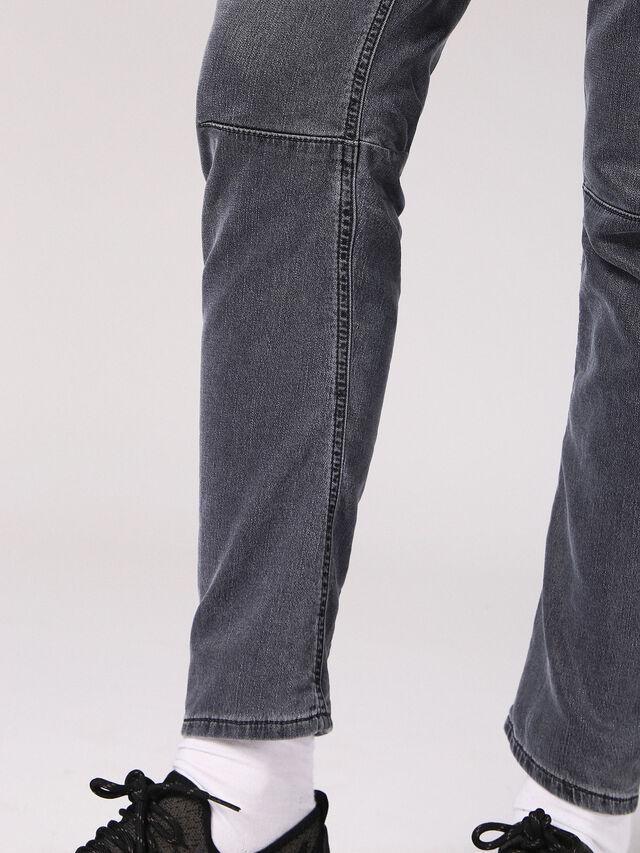 Diesel - Fayza JoggJeans 0689V, Black/Dark Grey - Jeans - Image 7