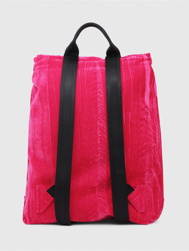 Diesel - F-MUSILE BACKPACK, Pink Fluo - Clutches - Image 2