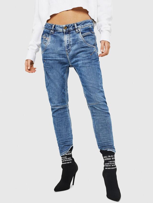 Diesel - Fayza JoggJeans 0870K, Light Blue - Jeans - Image 1