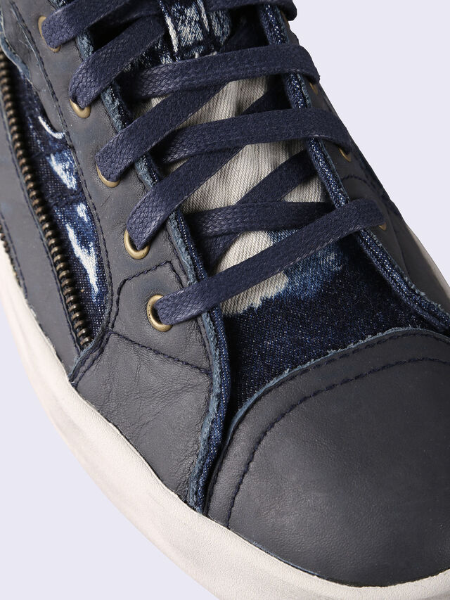 Diesel - D-STRING PLUS, Blue Jeans - Sneakers - Image 4