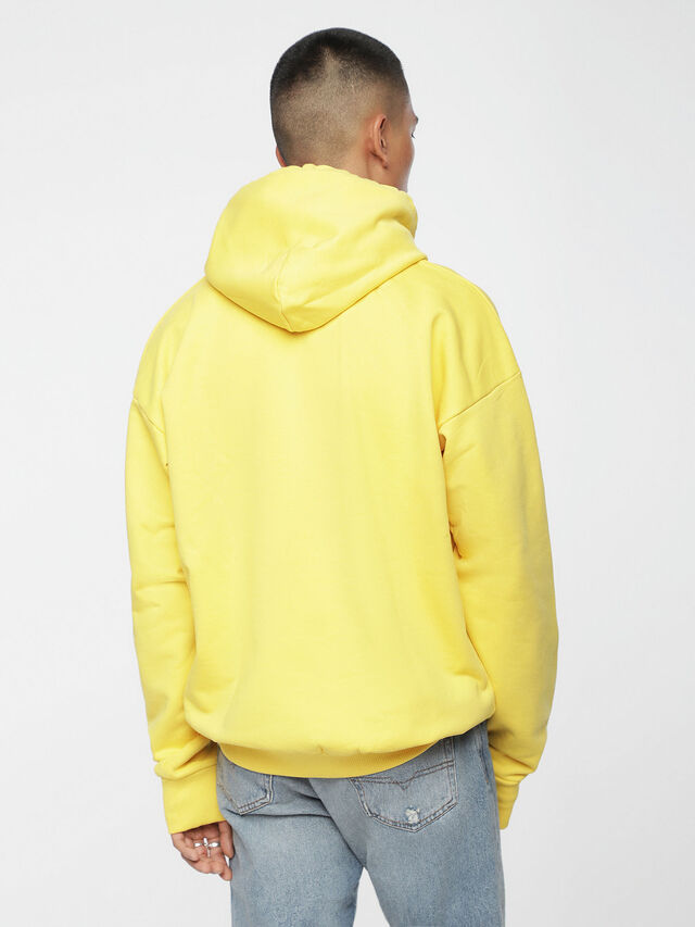 Diesel - S-DIVISION, Yellow - Sweatshirts - Image 2