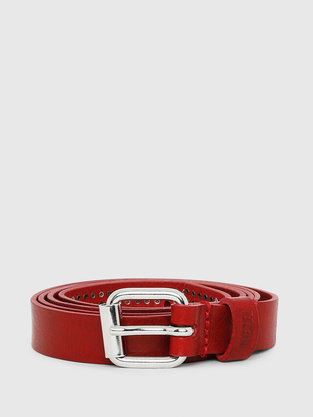 Diesel - B-MINISTUD, Red - Belts - Image 1