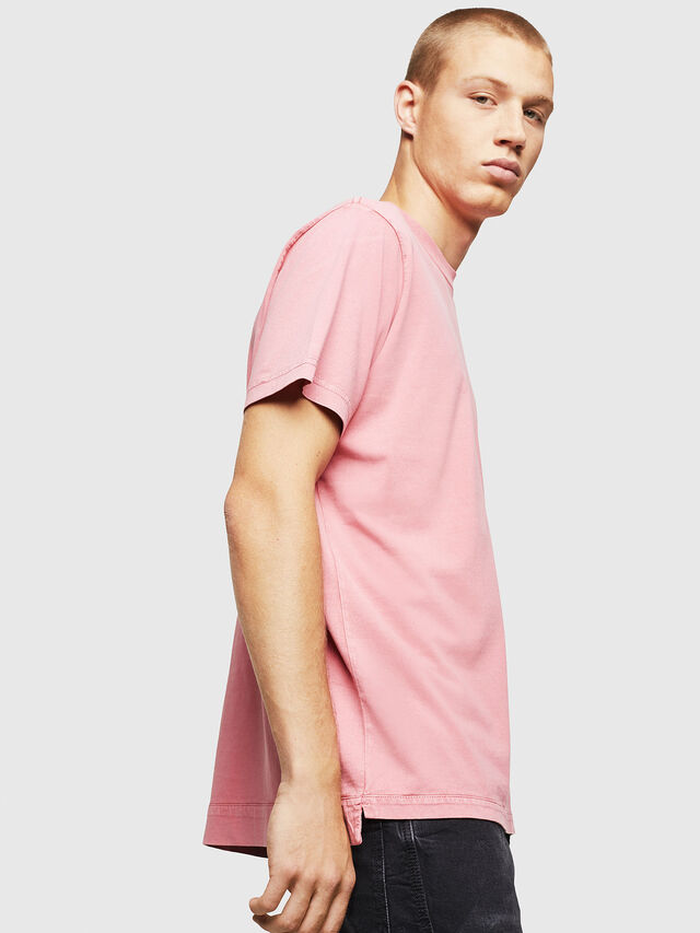 Diesel - T-THURE, Pink - T-Shirts - Image 4