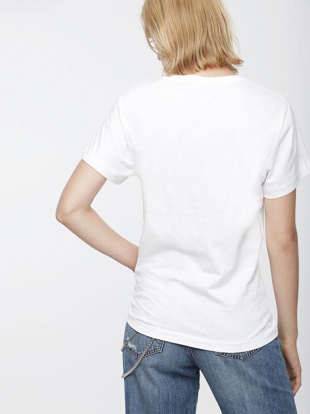 Diesel - T-GODIE, White - T-Shirts - Image 2