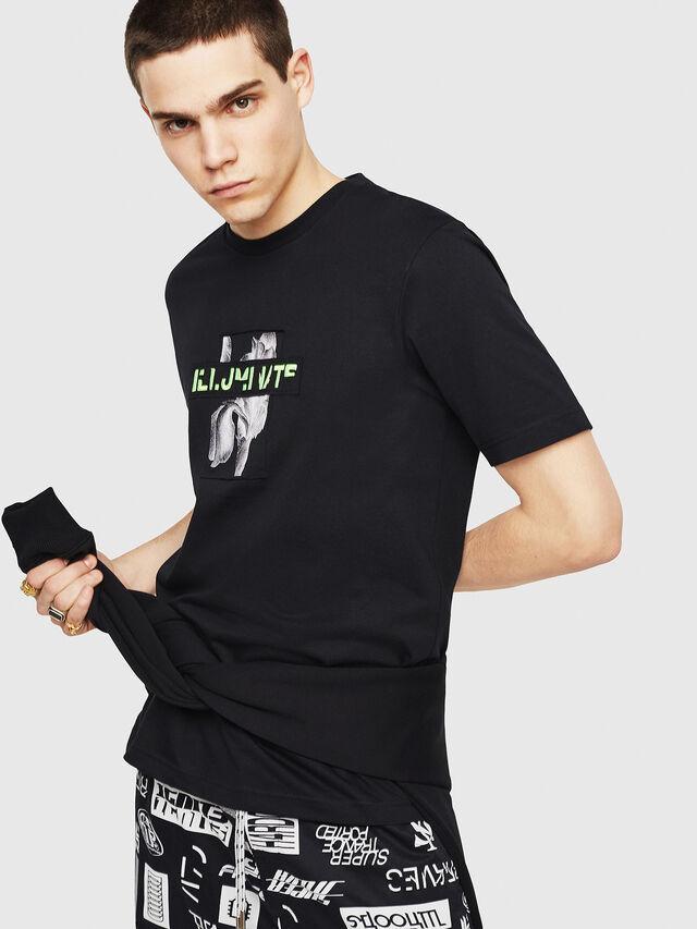Diesel - T-JUST-Y23, Black - T-Shirts - Image 1