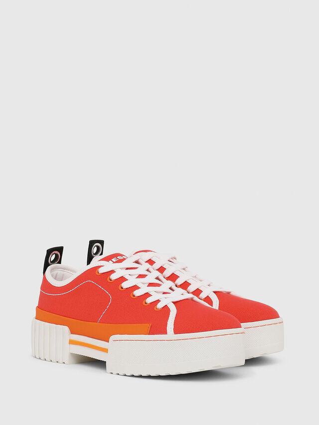 Diesel - S-MERLEY LC, Orange - Sneakers - Image 2