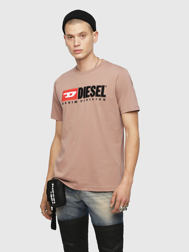 Diesel - T-JUST-DIVISION, Face Powder - T-Shirts - Image 1