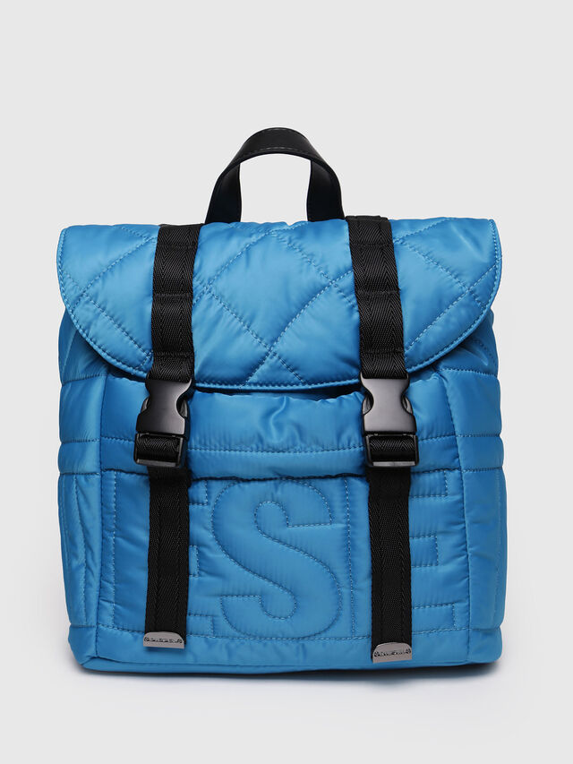 Diesel - NYDUVET BACKPACK, Azure - Backpacks - Image 1