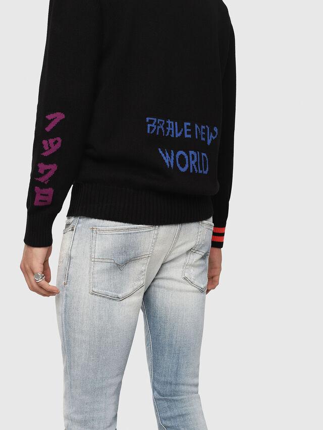 Diesel - K-FUT, Multicolor/Black - Sweaters - Image 4