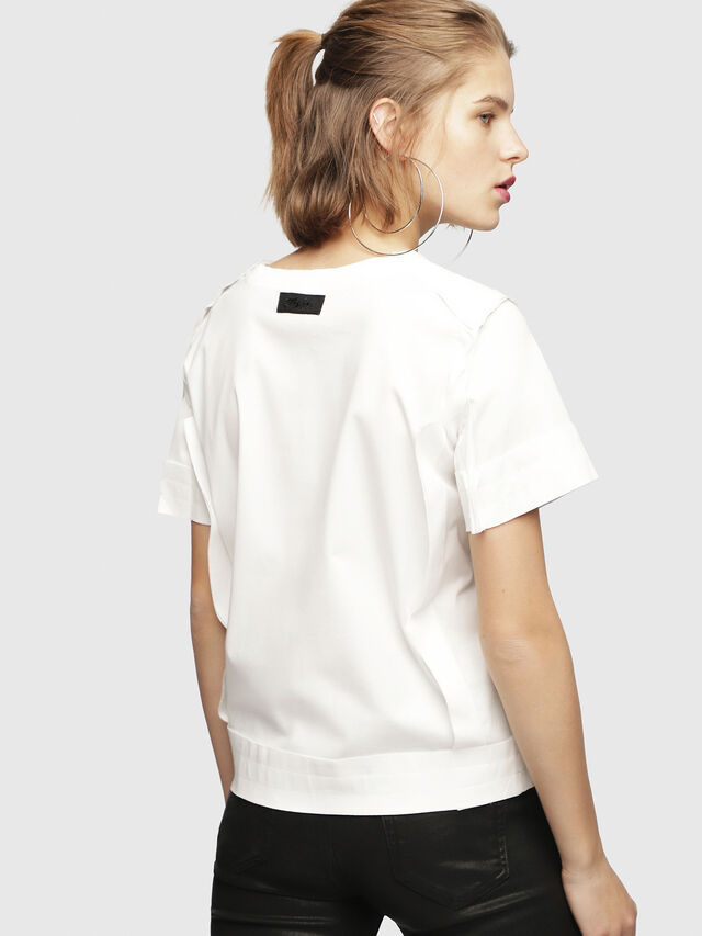Diesel - T-ROCK, White - T-Shirts - Image 2