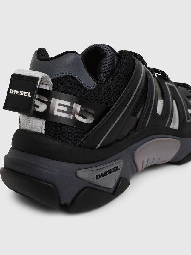 Diesel - S-KIPPER LOW TREK, Black - Sneakers - Image 7