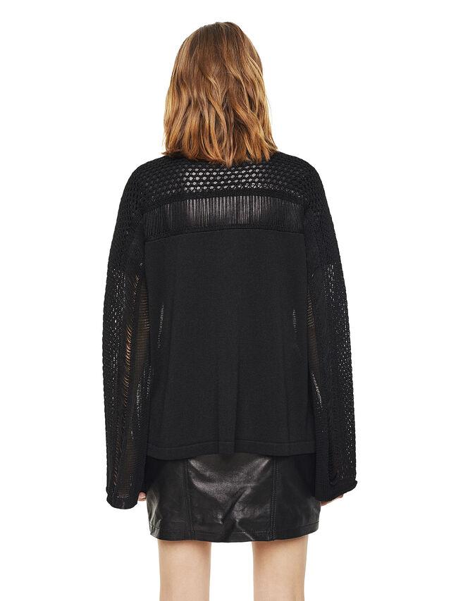 Diesel - MOFRAN, Black - Sweaters - Image 2