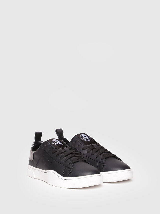 Diesel - S-CLEVER LOW W, Bright Black - Sneakers - Image 2
