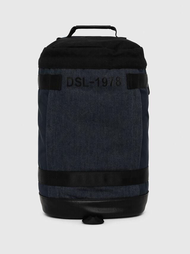 Diesel - PIEVE, Dark Blue - Backpacks - Image 1