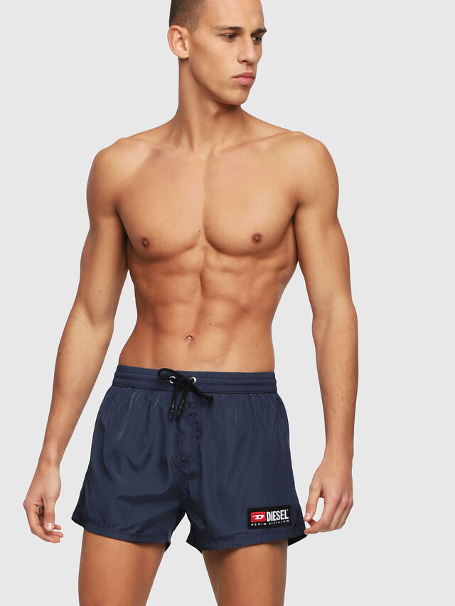 Diesel - BMBX-SANDY 2.017, Navy Blue - Swim shorts - Image 1