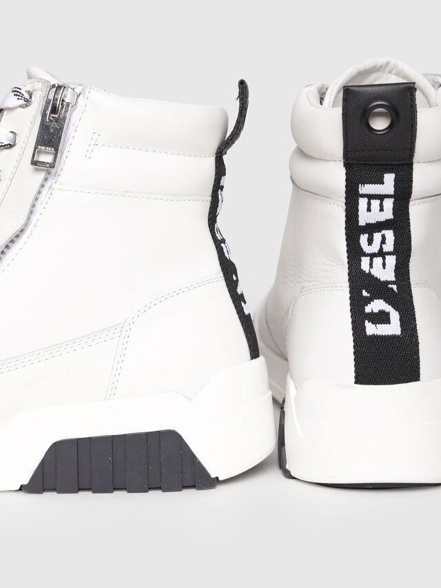 Diesel - S-RUA MC, White - Sneakers - Image 4