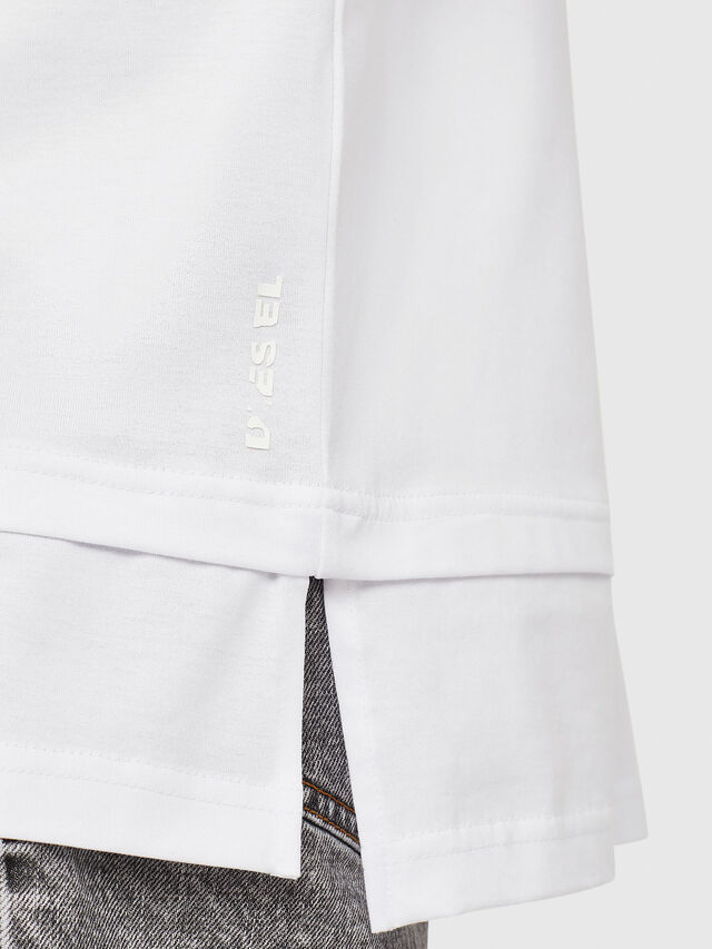 Diesel - T-YORI-Y1, White - T-Shirts - Image 3