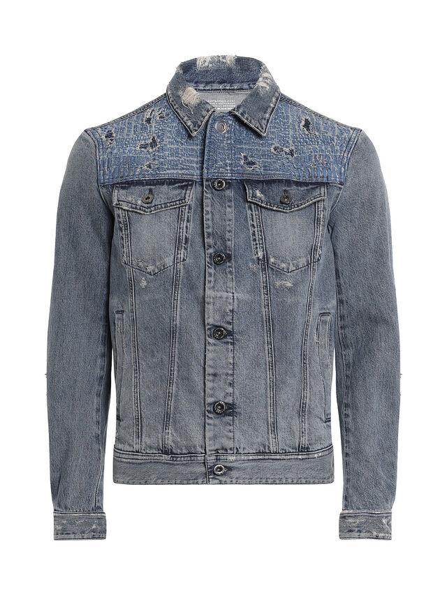 Diesel - JARTE-R, Blue Jeans - Jackets - Image 1
