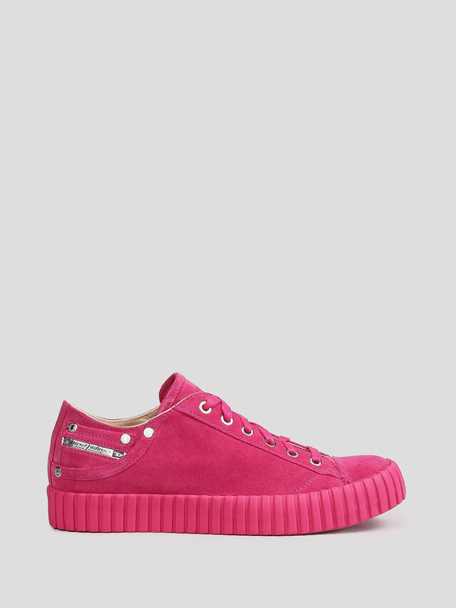 Diesel - S-EXPOSURE CLC W, Hot pink - Sneakers - Image 1