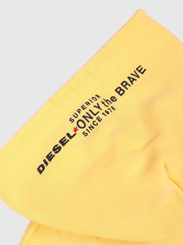 Diesel - SPALMS OVER, Light Yellow - Sweatshirts - Image 3