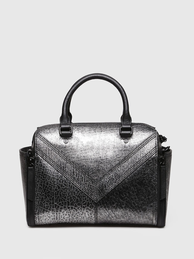 Diesel - LE-TRASY, Silver - Satchels and Handbags - Image 2