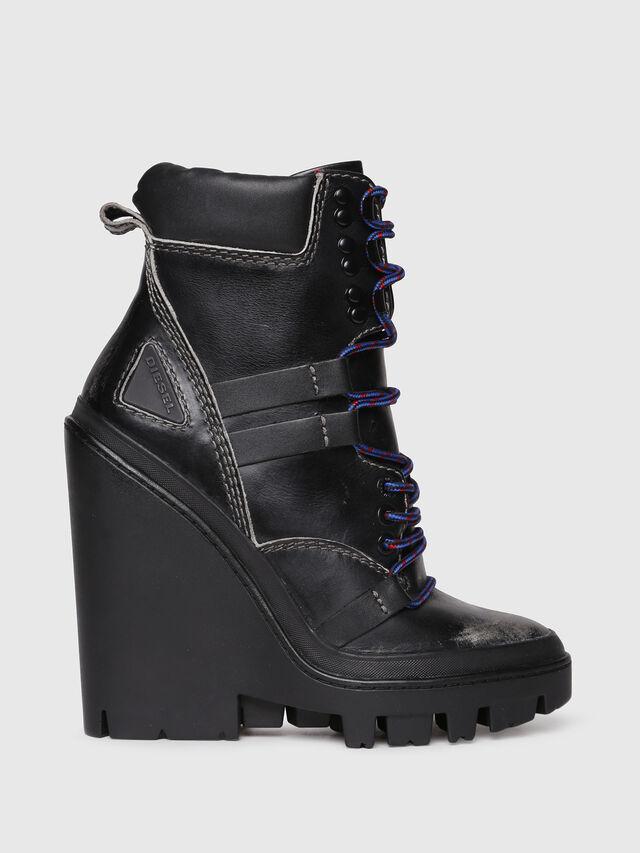 Diesel - D-VIBE MB, Black - Ankle Boots - Image 1