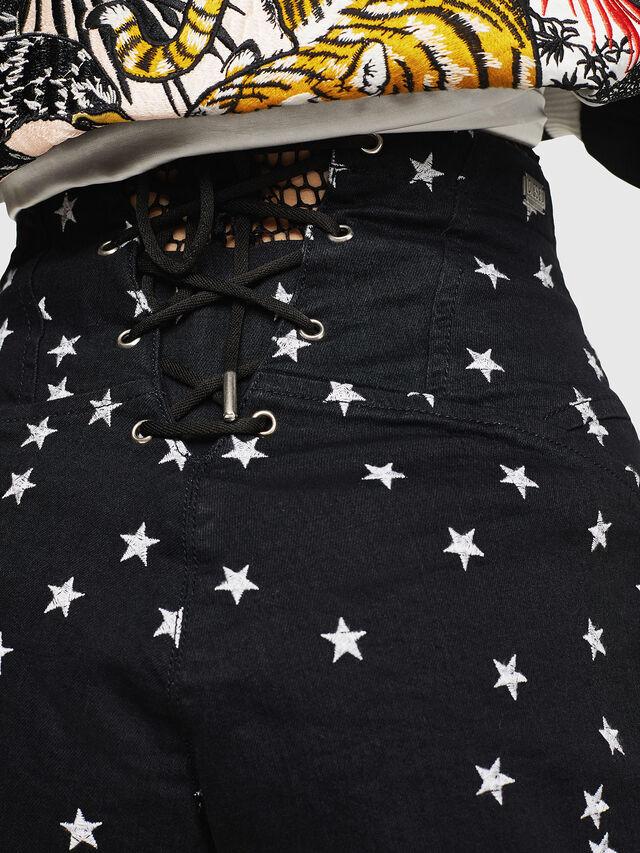 Diesel - DE-PANTY, Black - Shorts - Image 4