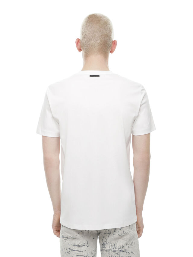 Diesel - TY-TEAR, White - T-Shirts - Image 2