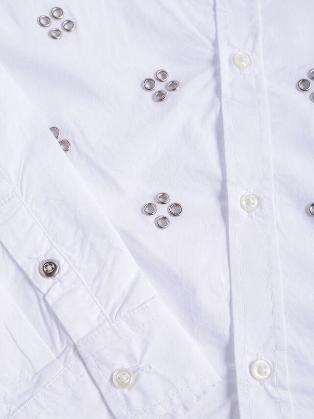Diesel - CSQUAD, White - Shirts - Image 3