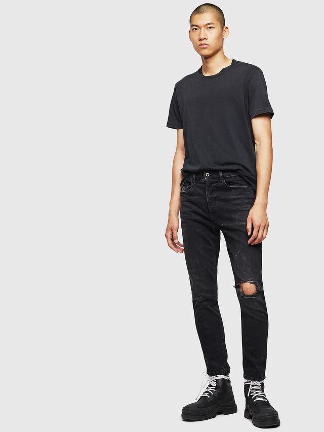 Diesel - D-Eetar 069DV, Black/Dark Grey - Jeans - Image 5
