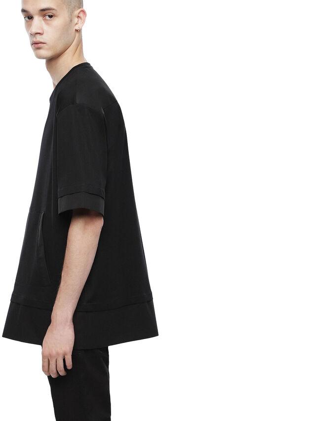 Diesel - TAGEO, Opaque Black - T-Shirts - Image 3